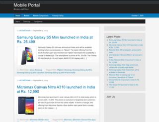 mobilenewshome.com screenshot