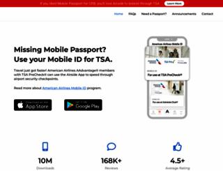 mobilepassport.us screenshot