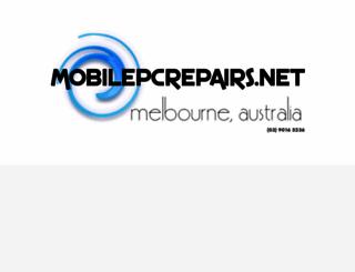 mobilepcrepairs.net screenshot
