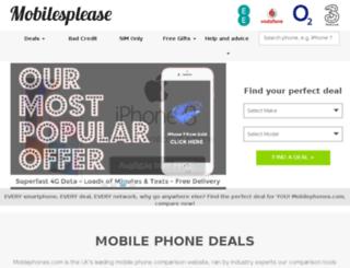 mobilephones.com screenshot