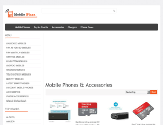 mobileplaza.co.uk screenshot