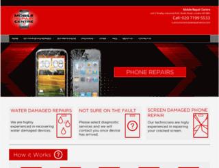 mobilerepaircentre.com screenshot