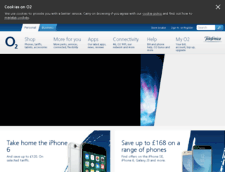 mobilereviews.o2.co.uk screenshot