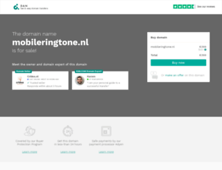 mobileringtone.nl screenshot