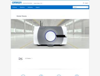 mobilerobots.com screenshot