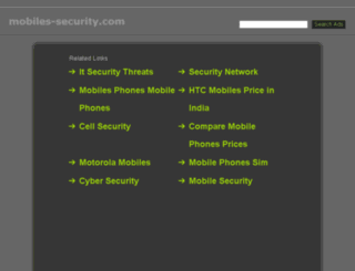 mobiles-security.com screenshot