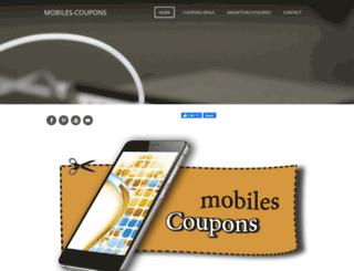 mobilescoupons.com screenshot