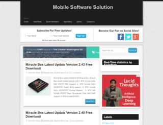 mobilesolutionrd.com screenshot