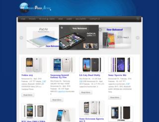 mobilesphonearena.blogspot.com screenshot
