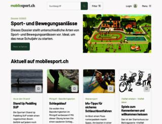 mobilesport.ch screenshot