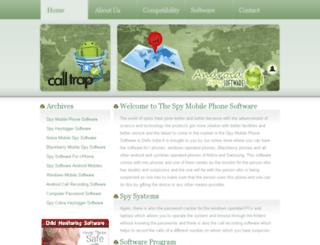 mobilesspysoftware.in screenshot