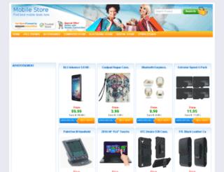 mobilestor.in screenshot