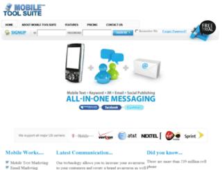 mobiletoolsuite.com screenshot