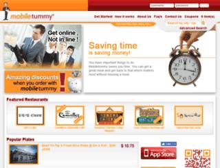 mobiletummy.com screenshot