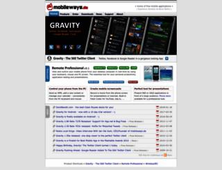 mobileways.de screenshot