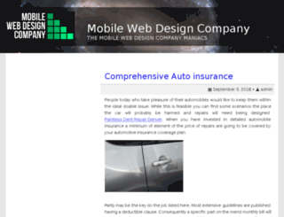 mobilewebdesigncompany.net screenshot