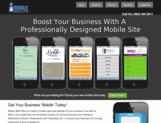 mobilewebelite.com screenshot