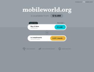 mobileworld.org screenshot