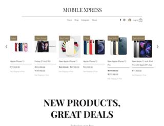 mobilexpress.in screenshot