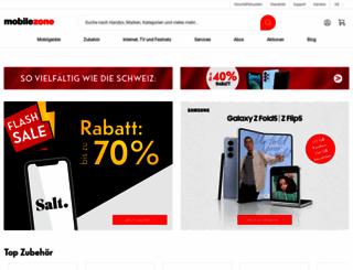 mobilezone.ch screenshot