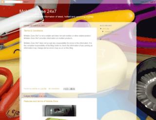 mobilezone24x7.blogspot.com screenshot