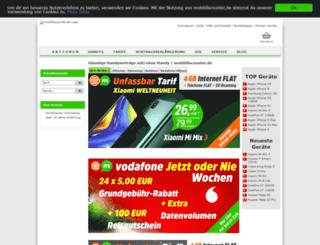 mobilfunkfinder.de screenshot