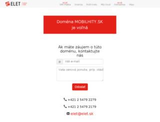 mobilhity.sk screenshot