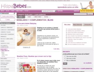 mobiliario-y-complementos.hispabebes.com screenshot