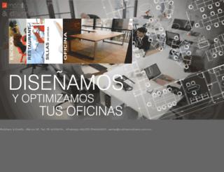mobiliarioydiseno.com.mx screenshot