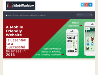 mobilisenow.net screenshot