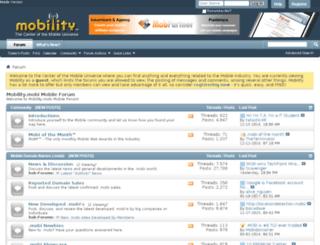 mobility.mobi screenshot
