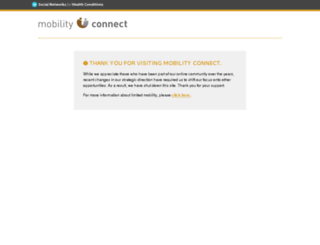 mobilityconnect.com screenshot