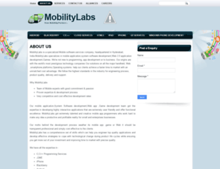 mobilitylabs.in screenshot