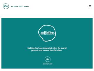 mobilizemygame.com screenshot