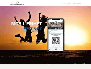 mobilkampanj.se screenshot
