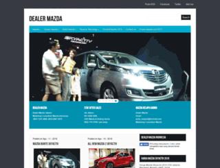 mobilmazda.net screenshot
