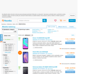 mobilni-telefony.heureka.cz screenshot
