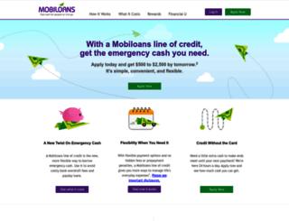 mobiloans.com screenshot