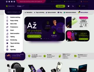mobilonline.sk screenshot