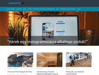 mobiltelefon.linkcenter.hu screenshot