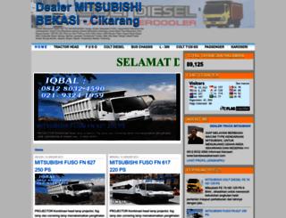 mobiltruckmitsubishi.blogspot.com screenshot