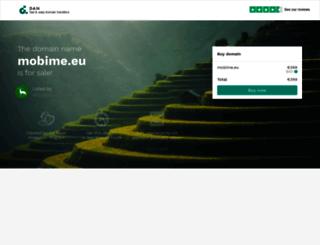 mobime.eu screenshot