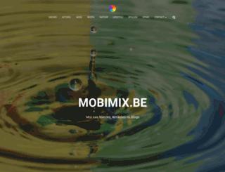 mobimix.be screenshot