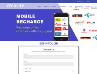 mobipaycash.co.in screenshot