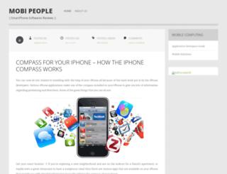 mobipeople.wordpress.com screenshot