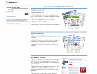 mobireach.com screenshot