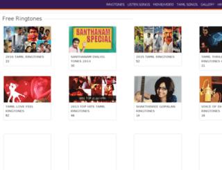 mobiringtones.info screenshot