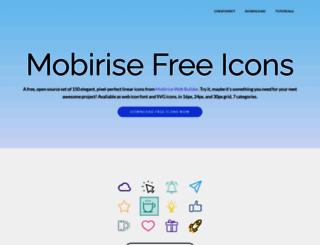 mobiriseicons.com screenshot