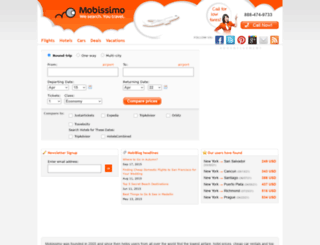 mobissimo.com screenshot