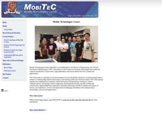 mobitec.ie.cuhk.edu.hk screenshot